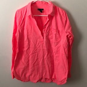 Gap Neon pink/coral with matching tank top.